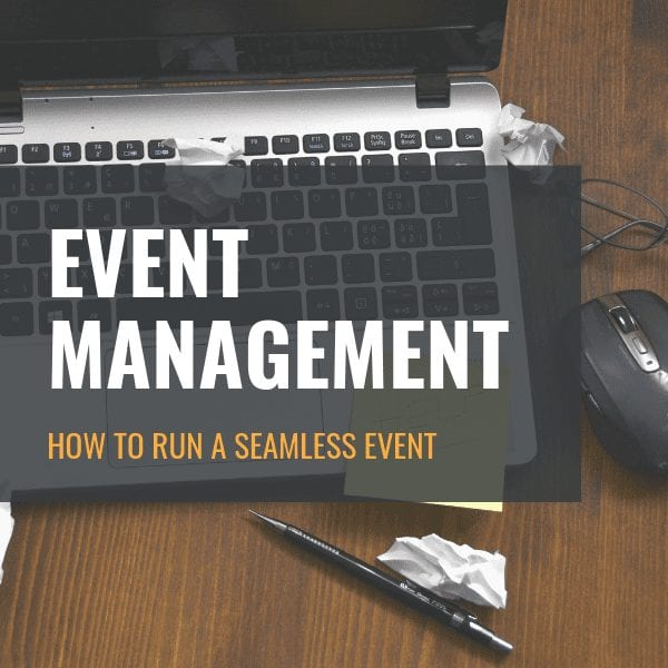 The Event Management Checklist