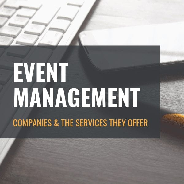 Understanding Event Management Services