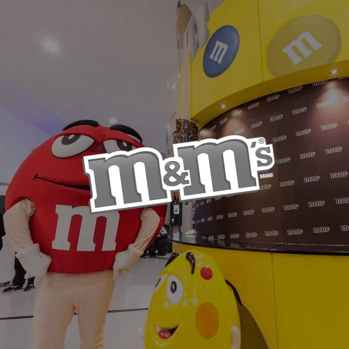 Jawbone Brand Experiences - M&Ms experiential marketing