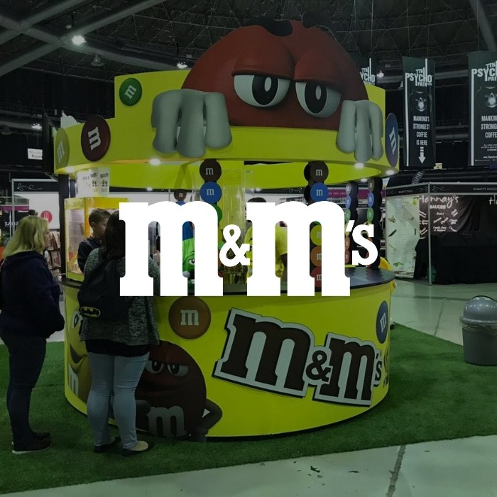 M&Ms – Chocolate Expo 2019