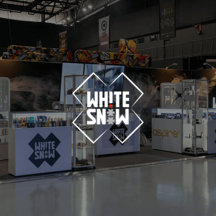 White Snow at Vapecon 2019 with Jawbone Brand Experiences