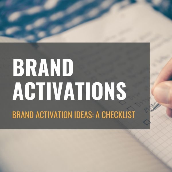 Your Complete Brand Activation Checklist